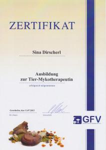 Zertifikat Mykotherapie